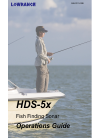 Lowrance HDS-5x Fish Finder Manual (101 pages)