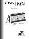 Chauvet OVATION B-565FC DJ Equipment Manual (33 pages)
