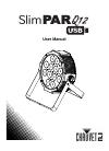 Chauvet SlimPar Q12 USB DJ Equipment Manual (19 pages)