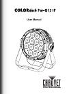 Chauvet COLORdash Par-Q12 IP DJ Equipment Manual (23 pages)