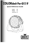 Chauvet COLORDASH S-PAR 1 DJ Equipment Manual (32 pages)