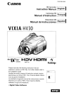 Canon HV30 Digital Camera Manual (119 pages)
