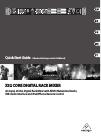 Behringer X32 DIGITAL MIXER DJ Equipment Manual (21 pages)