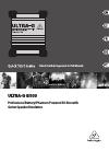Behringer Ultra-G GI100 DJ Equipment Manual (16 pages)