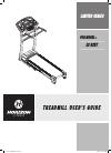 Horizon Fitness LS 925T Treadmill Manual (17 pages)