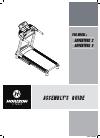Horizon Fitness Adventure 2 Plus Treadmill Manual (6 pages)