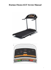 Horizon Fitness 612T Treadmill Manual (13 pages)