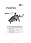 HeliArtist 450 scale fuselage Toy Manual (10 pages)