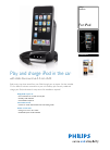 Philips DLA93052 MP3 Player Accessories Manual (2 pages)
