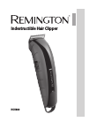 Remington HC5880 Hair Clipper Manual (136 pages)